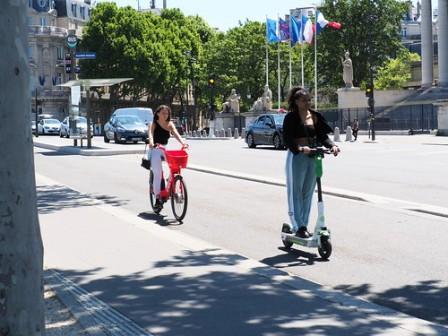 L'usage de la trottinette électrique en ville