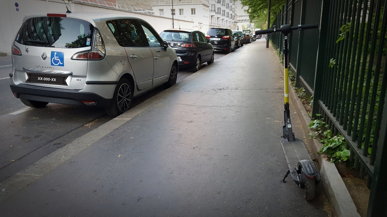 trottinette électrique à paris : indemnisation en cas d'accident