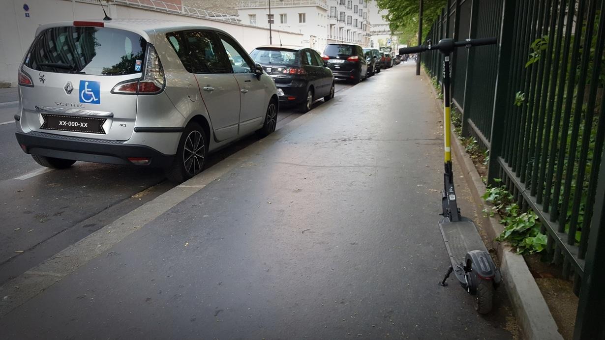 trottinette électrique à paris : indemnisation en cas d'accident