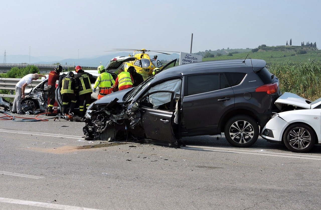 Secours victimes accident circulation