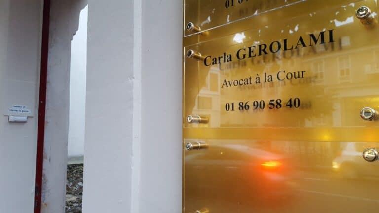 Cabinet d'Avocat de victimes 77 - Carla GEROLAMI